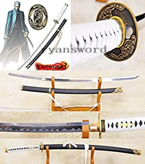 High Quality High Carbon Steel(devil May Cry)sword---traditional Handmade Yamato in the Anime