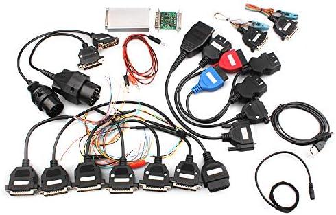 V10 93 Carprog Full Version w All 21 Item Adapter Car ECU PROG Programmer product image