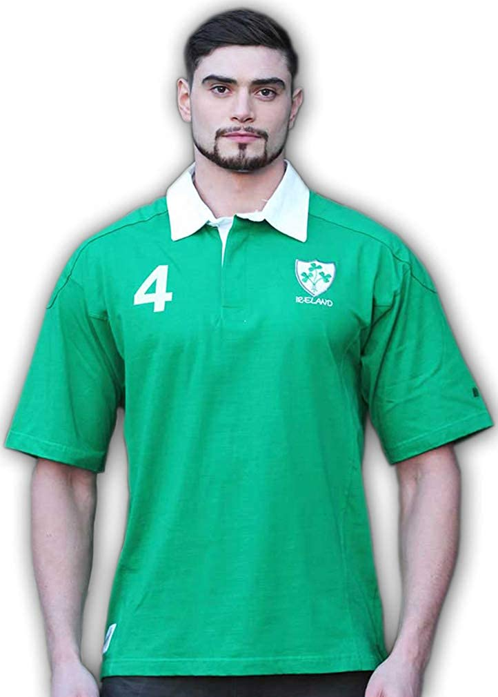 Cheap Fees free!! SALE Start Celtic Clothing Company Irish Pride 4 Shirt Rug Rugby World Cup