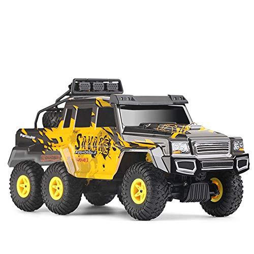 Vehículo de Control Remoto 1:18 6WD 2.4G Control Remoto de Seis Ruedas vehículo Todoterreno Modelo Hummer Modelo