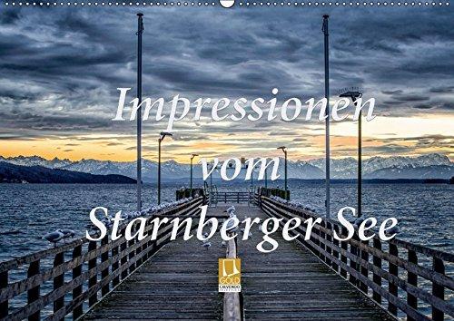 Impressionen vom Starnberger See (Wandkalender 2019 DIN A2 quer): Genießen Sie 12 emotionale Bilder, die den Starnberger See im Licht der Jahreszeiten ... (Monatskalender, 14 Seiten ) (CALVENDO Natur)