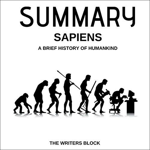 Summary: Sapiens audiobook cover art