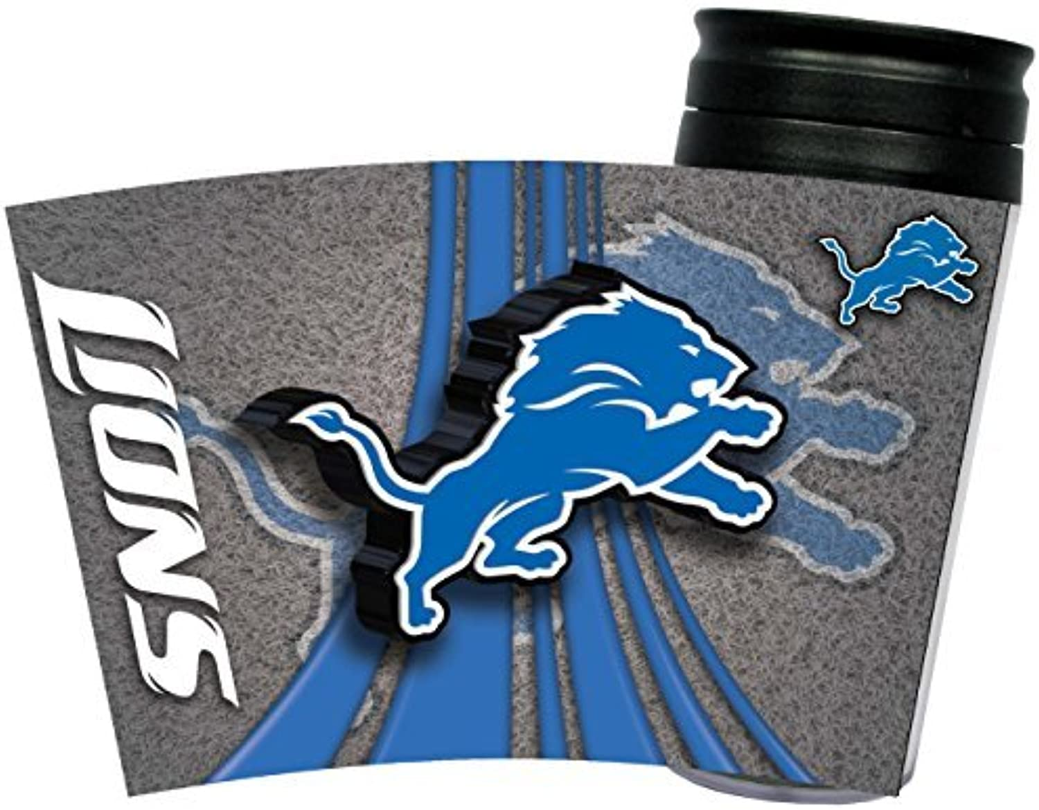 Detroit Lions Insulated Travel Mug by Wincraft Sports