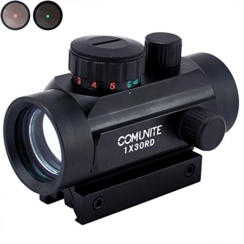 Comunite 1XRD30 Red/Green Dot Sight Scope Tactical...