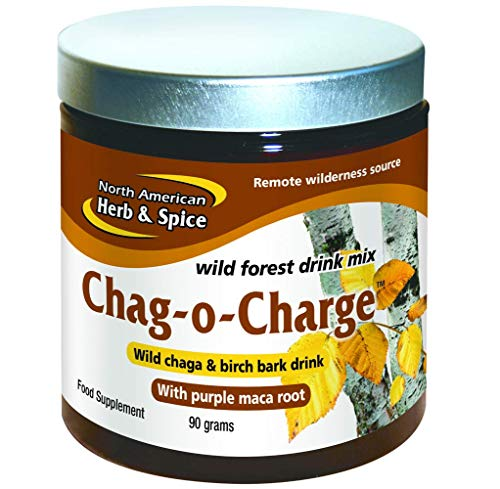 North American Herb and Spice, Chag-o-charge, Wild Forest Tea, 3.20 Ounce