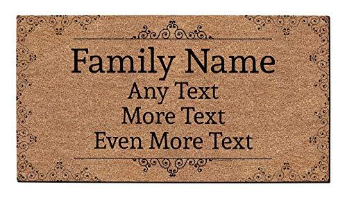 Personalized Doormat