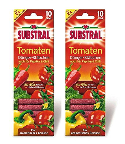 SUBSTRAL Tomaten Dünger Stäbchen