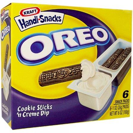 OREO Cookie Sticks 'n Creme Dip 6 x 1 OZ (28g)