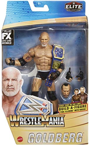 Goldberg Wrestling Figur WWE Mattel Wrestlemania Elite Series Action