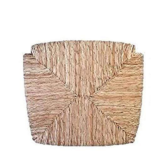 OKAFFAREFATTO MADDALONI Asientos de paja de arroz (mod. 1212 Venecia) de repuesto para sillas con fondo fondo y marco para asiento modelo Venecia, Loris, Paesana, etc.