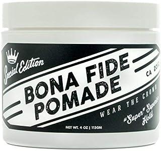 ボナファイドポマード (BONA FIDE POMADE) スーパースーペリアホールドSE [ ポマード メンズ ] 水性/pomade/ワックス/ヘアグリース (113g)