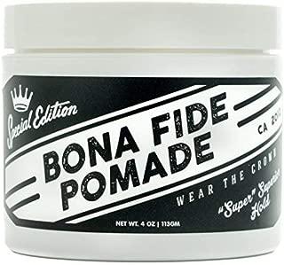 ボナファイドポマード(BONA FIDE POMADE) スーパースーペリアホールドSE メンズ 整髪料 水性 ヘアグリース