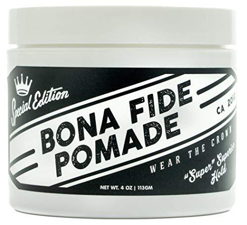 ボナファイドポマード(BONAFIDEPOMADE)スーパースーペリアホールドSE[ポマードメンズ]水性/pomade/ワックス/ヘアグリース(113g)