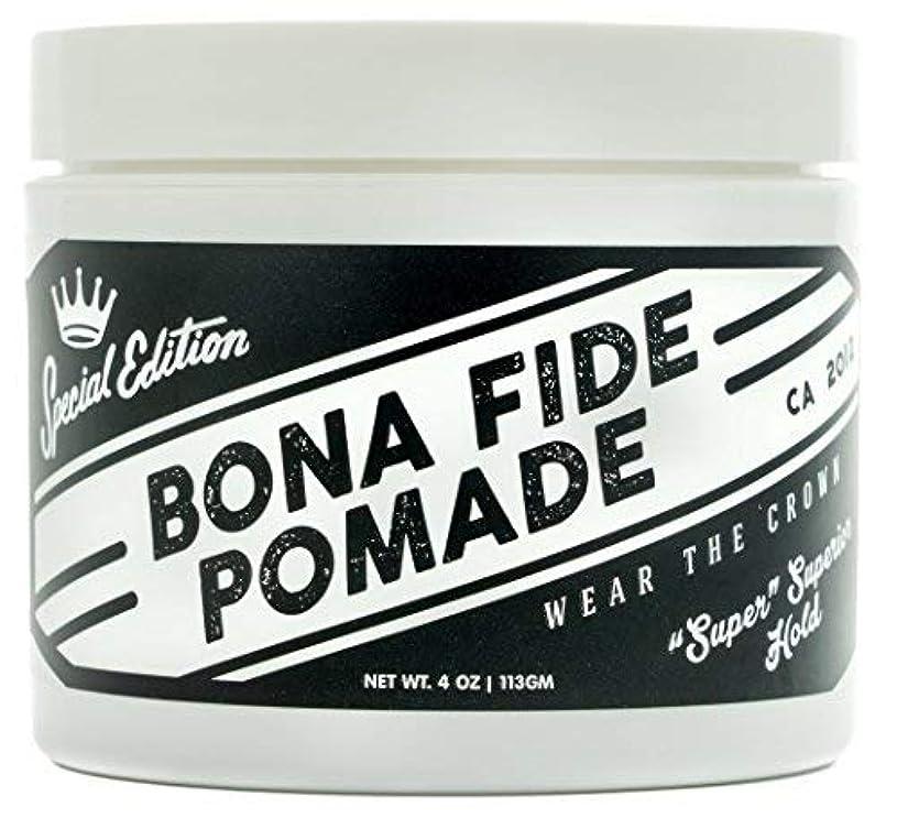 合理的投資悲鳴Bona Fide Pomade, スーパースーペリアホールドSE, 4OZ (113g)、水性ポマード/ヘアー グリース (整髪料)
