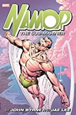 Namor the Sub-Mariner by John Byrne and Jae Lee Omnibus de John Byrne