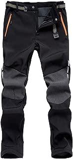 Mochoose Women's Mountain Outdoor Windproof Waterproof Ski Snow Fleece Pants Hiking Trousers