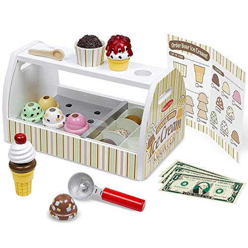 メリッサ&ダグ アイスクリーム屋さん ごっこ遊び 木製 おもちゃ 9286 正規品