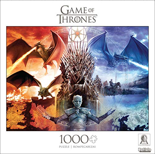 Game of Thrones: Fire and Ice - 1000 Piece Jigsaw Puzzle