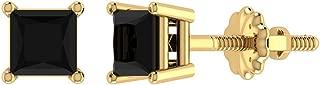 Best black diamond 1/2 carat stud earrings Reviews
