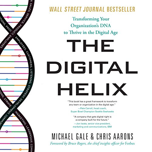 The Digital Helix audiobook cover art
