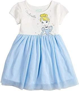 Cinderella Toddler Girl Tulle Dress - 4T Blue