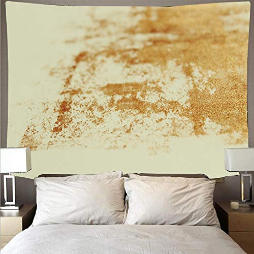 Black background gold paint painting big art people psychedelic wall hanging beach towel tapestry background cloth A5 180x200cm