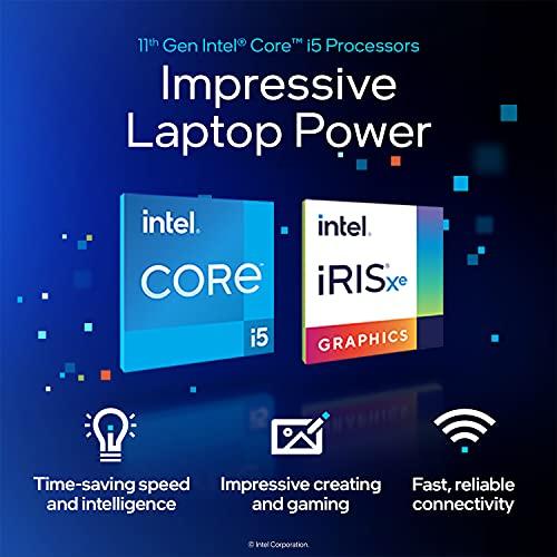 HP 14 11th Gen Intel Core i5 Processor 14 inches HD Laptop, 8GB/512GB SSD/Windows 10/MS Office (Natural Silver/1.46Kg), 14s-dq2535TU