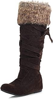 Best flat brown knee high boots uk Reviews