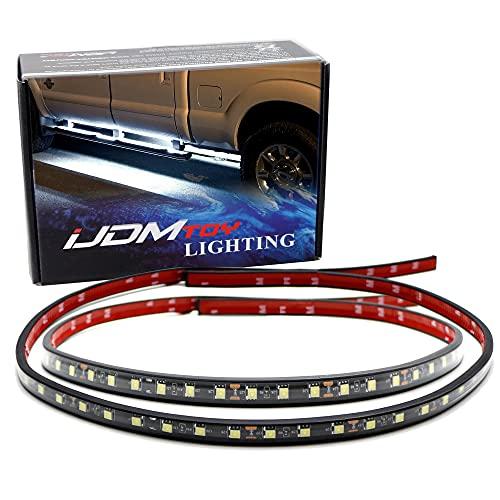 iJDMTOY (2) 40-Inch 63-SMD Flexible LED Running Board/Side Step Lighting Kit...