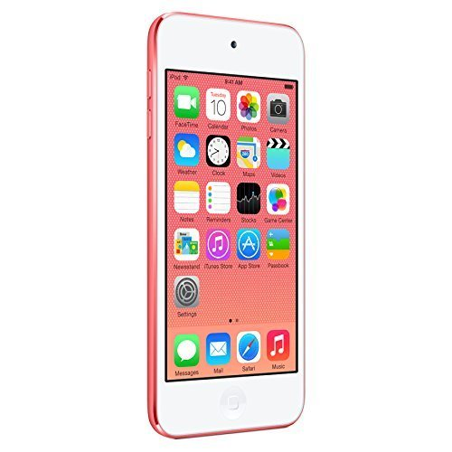 Apple iPod Touch 16GB, Pink (5th Generation) (Renewed)