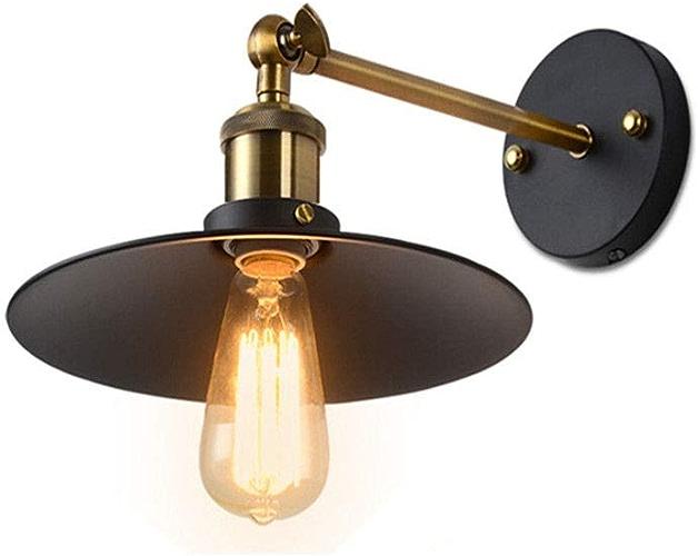 Moderne Design Vintage Fer Edison Applique De Style AméRicain Loft LumièRe Salon Bar Salle à Manger, Avec 26CM Ombre