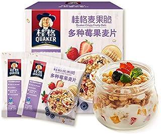 ???QUAKER???? ????????????200g(40g*5)????? Quaker (QUAKER) crisp berries, cereals, breakfast cereals, 200g (40g*5) in small bags