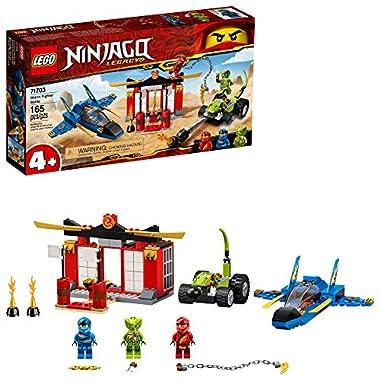 LEGO NINJAGO Legacy Storm Fighter Battle 71703 Ninja Playset Building Toy for Kids Featuring Ninja Action Figures (165…