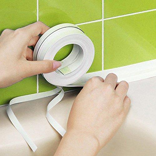 KOET Dichtungsband, wasserdicht, für Badewanne, Badezimmer, Dusche, WC, Küche und Wandabdichtung