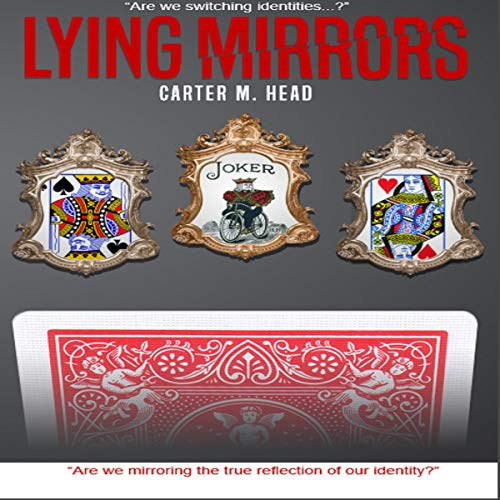 Lying Mirrors audiobook cover art