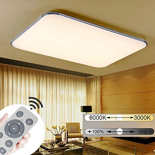JINPIKER 72W Dimbare ultradunne LED plafondlamp hal woonkamer keuken badkamer licht plafondverlichting energiebesparing en milieubescherming LED plafondlamp