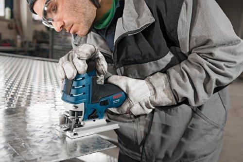 Bosch Professional GST 150 CE Stichsäge (mit 1 Sägeblatt T144D, max. 150 mm Schnitttiefe, 780 W, Koffer) 0601512000 - 3