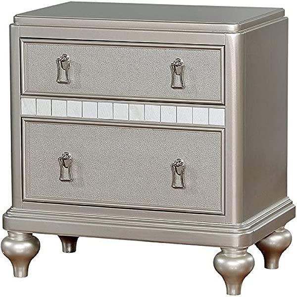 家具的 Appell 月抽屉床头柜银