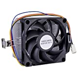 AMD Socket FM1/AM3+/AM3/AM2+/AM2/1207/940/939/754 4-Pin Connector CPU Cooler With Aluminum Heatsink & 2.75' Fan For Desktop PC Computer