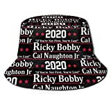 Ricky Bobby Cal Naughton Jr 2020 Election Unisex Print Bucket Hat Summer Beach Sun Protection Hat Outdoor Cap Black