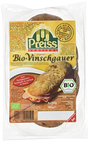 Preiss Südtiroler Original Vinschgauer 2 x 100 g, 12er Pack (12x 200 g) - Bio