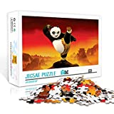 Póster educativo de la película de rompecabezas de 300 piezas: Kung Fu Panda Puzzle de madera Juegos educativos Rompecabezas de desafío cerebral para niños adultos 38x26cm
