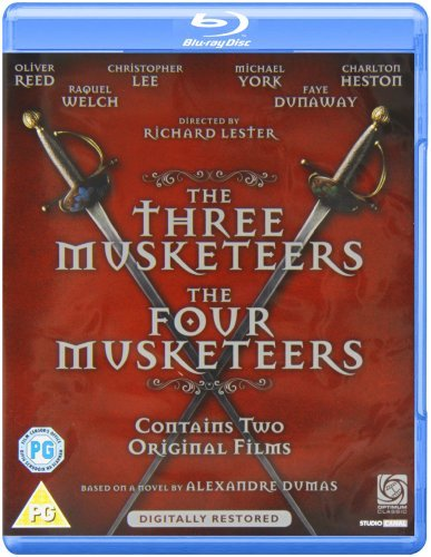 The Three Musketeers And The Four Musketeers [Blu-ray]