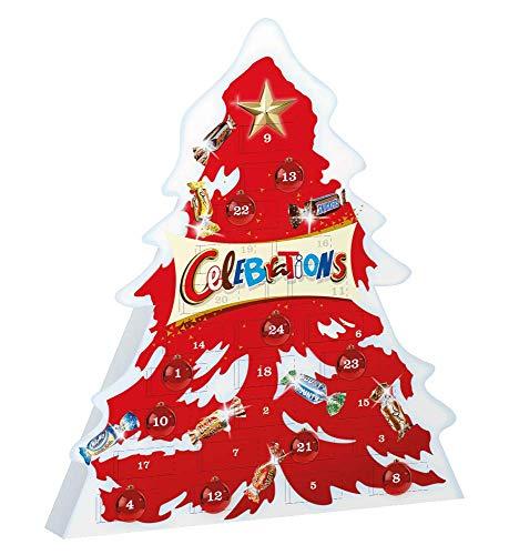 CELEBRATIONS - Assortiment de chocolats - Calendrier de lAvent 215 g