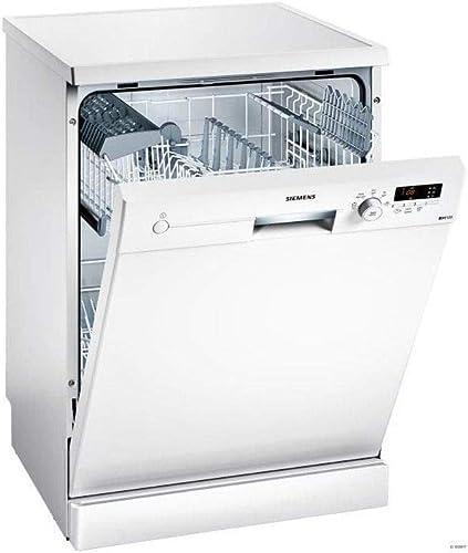 Lave vaisselle 60 cm Siemens SN215W02AE - Lave vaisselle Blanc - Classe énergétique A+ / Affichage temps restant - Dé...