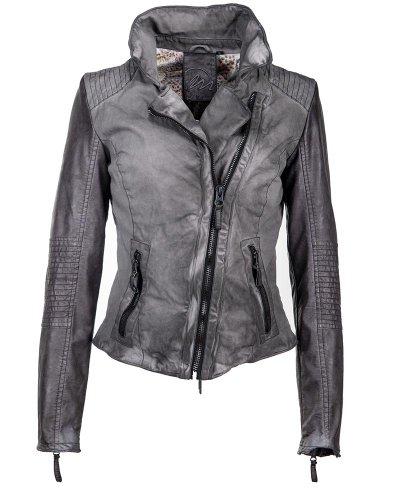 Maze Damen Jacke In Taillierter Passform Peoria Grey L
