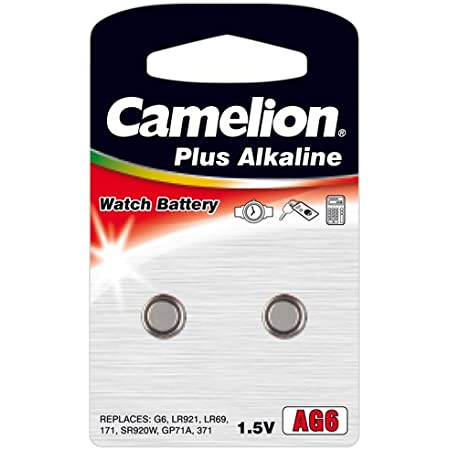 Camelion Ag6 Lr921 Alkali Knopfzelle 1 5v Blister Elektronik