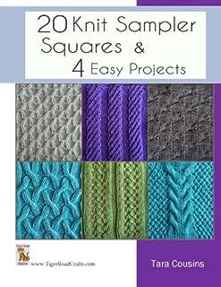 20 Knit Sampler Squares & 4 Easy Projects (Tiger Road Crafts) (Volume 7)