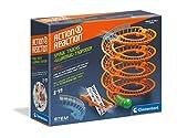 Clementoni-19168 - Action&Reaction Pistas en espiral - pistas para construir, accesorio a partir de 8 años
