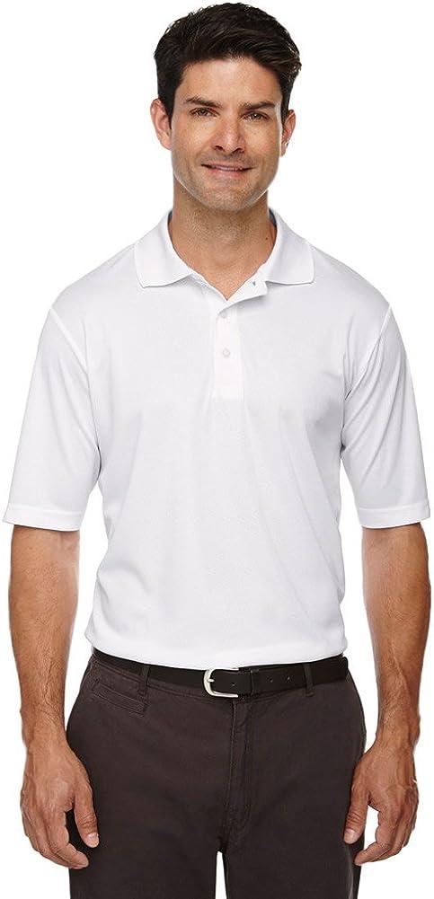 Ash City Core 365 Men's Tall Origin Performance Piqué Polo, 5XT, White 701